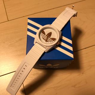 アディダス(adidas)のadidas 腕時計 着画あり(腕時計)