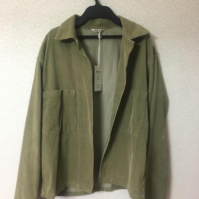 COMOLI(コモリ)のauralee  コーデュロイジャケット メンズのジャケット/アウター(テーラードジャケット)の商品写真