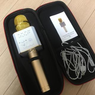 未使用☆Micgeek カラオケマイクロフォン Bluetooth(マイク)