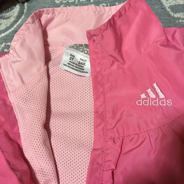 adidas(アディダス)のセットアップ キッズ/ベビー/マタニティのキッズ服 女の子用(90cm~)(ジャケット/上着)の商品写真