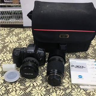 ジャンク品 MINOLTA カメラ 303si(デジタル一眼)