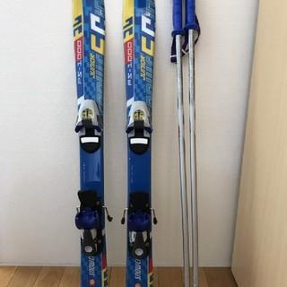 子供スキー 3点セット 板スノーカービング ビデング−ブーツ サロモン(板)