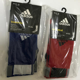 アディダス(adidas)の新品★アディダス★スポーツソックス★22-24cm(バスケットボール)