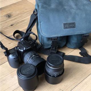 ジャンク品 SIGAMA カメラセット(デジタル一眼)