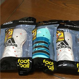 アディダス(adidas)のアディダス サッカー  レガース  3点セット Lサイズ(その他)