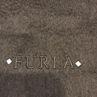 フルラ(Furla)のフルラ  黒マフラー(マフラー/ショール)