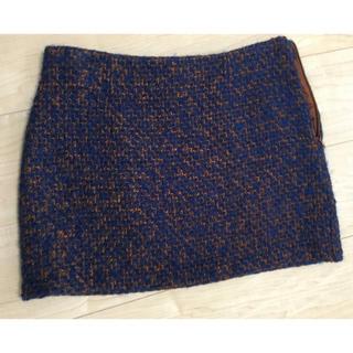 アンティックラグ(antic rag)のミニスカート ツイード(ミニスカート)