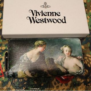 ヴィヴィアンウエストウッド(Vivienne Westwood)の新品 ヴィヴィアン EUROPA ラウンドファスナー 長財布(財布)