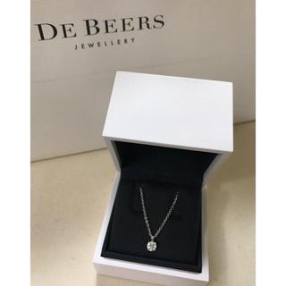 デビアス(DE BEERS)の極美品!《デ・ビアス》ダイヤモンド ペンダント(ネックレス)