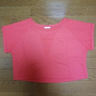 ジーユー(GU)のGU ショート丈 半袖Tシャツ(Tシャツ(半袖/袖なし))