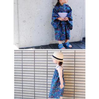 ベルメゾン(ベルメゾン)の2way 浴衣 90〜100(甚平/浴衣)