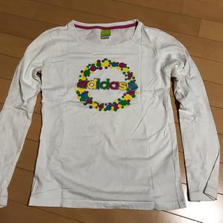 アディダス(adidas)の【美品】アディダス Tシャツ(Tシャツ(長袖/七分))