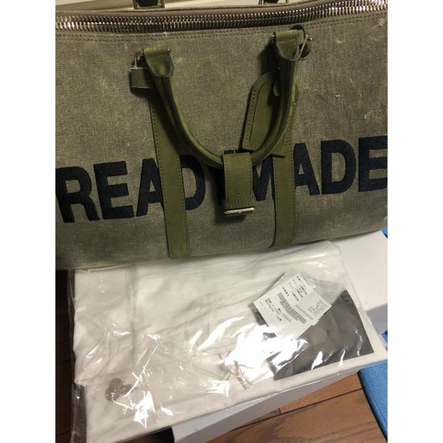 JAM HOME MADE & ready made(ジャムホームメイドアンドレディメイド)のレディメイドreadymade ボストンバッグ 18AW メンズのバッグ(ショルダーバッグ)の商品写真