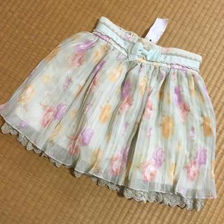 リズリサ(LIZ LISA)の✔️LIZLISA♡花柄プリーツスカート(ミニスカート)