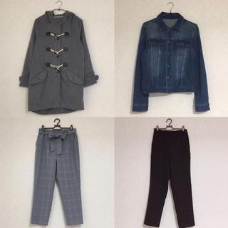 ジーユー(GU)のM〜Lサイズ 秋冬服まとめ売り ☺︎(ダッフルコート)