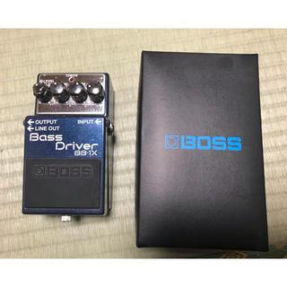 ボス(BOSS)のBOSS bass driver bb-1x(ベースエフェクター)