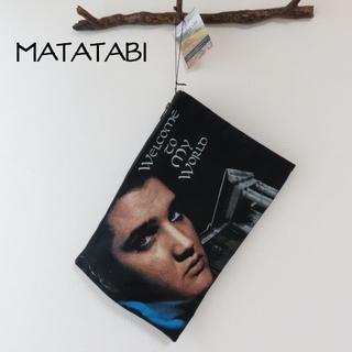 ヨウジヤマモト(Yohji Yamamoto)の新品 MATATABI マタタビ エルビスプレスリー クラッチバッグ(その他)