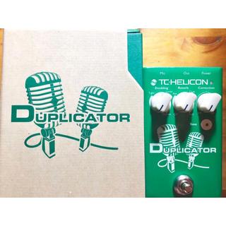 TC-HELICON DUPLICATOR ボーカルエフェクター(エフェクター)