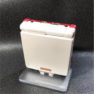 ゲームボーイアドバンス(ゲームボーイアドバンス)のゲームボーイアドバンスSP ファミコンカラー バックライト 改造品(携帯用ゲーム本体)