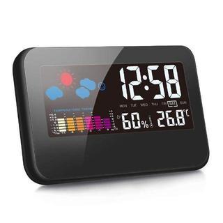 カラーディスプレイ デジタル温度湿度計 LCD温度湿度計 インテリア/住まい(その他 )