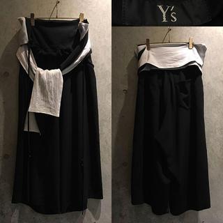 ワイズ(Y's)のy's yohjiyamamoto widepants(スラックス)