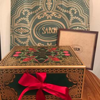 サボン(SABON)の新品 サボンSABON クリスマスコレクション ギフトセット スクラブローション(ボディスクラブ)