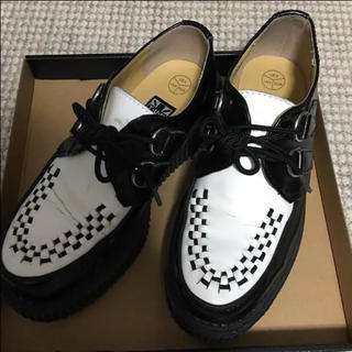 ティーユーケーシューズ(T.U.K. SHOES)のTUK T.U.K ラバーソール モノクロ(ローファー/革靴)