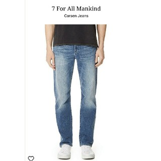 セブンフォーオールマンカインド(7 for all mankind)の  新品 7 For All Mankind  Carsen デニム(デニム/ジーンズ)