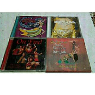VERY BELLY DANCEのCD4枚(写真参照)(ポップス/ロック(邦楽))