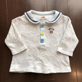 キムラタン(キムラタン)のPiccolo(ピッコロ) キムラタン 長袖 Tシャツ ロンT 70(Tシャツ)