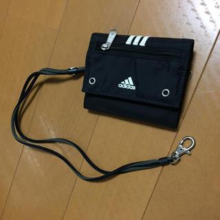 アディダス(adidas)の財布 adidas ストラップ付き(財布)