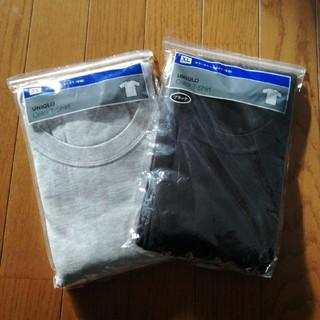 ユニクロ(UNIQLO)のユニクロ カラークルーネックT2枚 XL(Tシャツ/カットソー(半袖/袖なし))