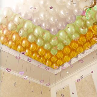 【あんしん極厚風船】 24個セット 10インチ イエロー+オレンジ+ベージュ(ウェルカムボード)