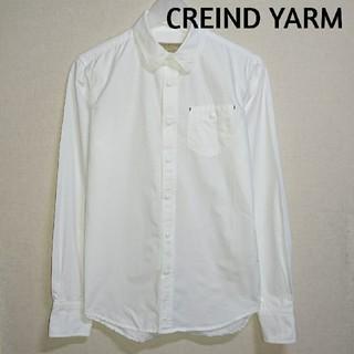 ヤエカ(YAECA)のCREIND YARM 白シャツ  RECORD(シャツ)