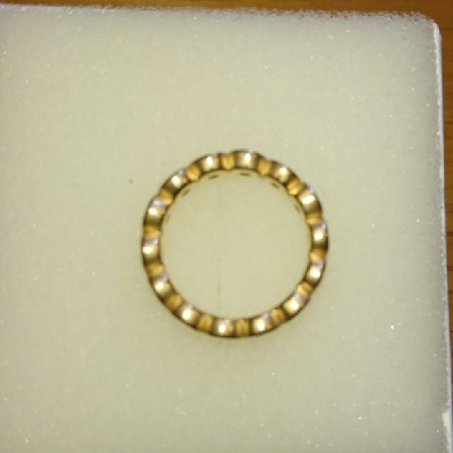 しろさま専用k18マルチカラー フルエタニティリング レディースのアクセサリー(リング(指輪))の商品写真