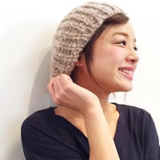 トゥデイフル(TODAYFUL)のキャナルジーン Dieu (ディュウ) ニットベレー帽(ハンチング/ベレー帽)
