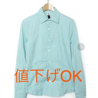 ダブルジェーケー(wjk)の【美品】wjk Mサイズ BLUE ブルー oxford shirts (シャツ)