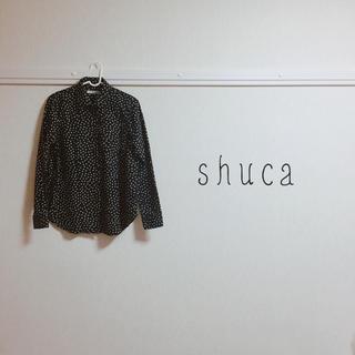 シュカ(shuca)のshuca ❁︎  ドットブラウス(シャツ/ブラウス(長袖/七分))