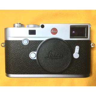 ライカ(LEICA)の保証残、ライカにて点検済 ライカ M10  ボディ シルバー  付属品多数付(デジタル一眼)