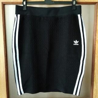 アディダス(adidas)の新品未使用 adidas オリジナル タイトスカート(ひざ丈スカート)