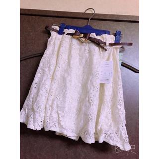 シマムラ(しまむら)のお値下げ中!! 花柄 スカート(ミニスカート)