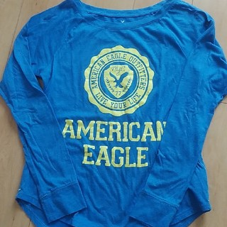 アメリカンイーグル(American Eagle)のアメリカンイーグルレディースシャツ👚(シャツ/ブラウス(長袖/七分))