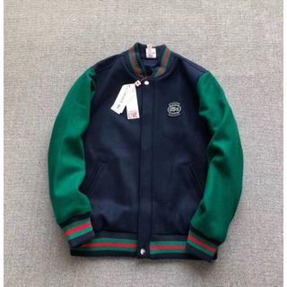 シュプリーム(Supreme)のSupreme LACOSTE 18SS Wool Varsity Jacket(スタジャン)