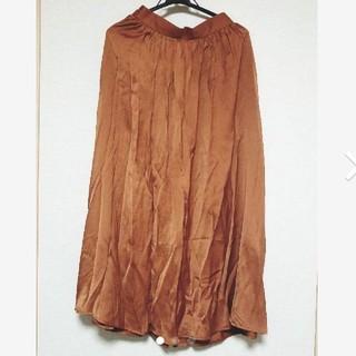 ジーユー(GU)のロングスカート GU(ロングスカート)