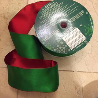 コストコ(コストコ)のたまたま様専用  コストコ カークランド  クリスマスリボン ワイヤーリボン(ラッピング/包装)