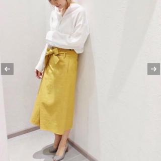 プラージュ(Plage)のcoco様専用3月1日まで plageアイスボンディングスカート(ひざ丈スカート)