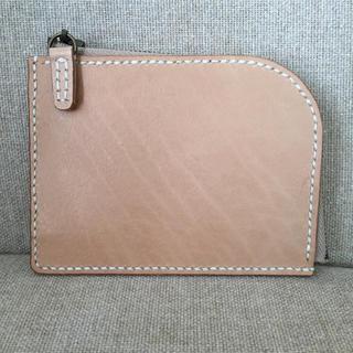 レザークラフト 財布 L型ファスナー(財布)