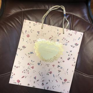レメルヴェイユーズラデュレ(Les Merveilleuses LADUREE)のLADUREE ラデュレ 紙袋 ショッパー (大)(ショップ袋)