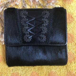 ラルフローレン(Ralph Lauren)のラルフローレン ハラコ折財布(財布)