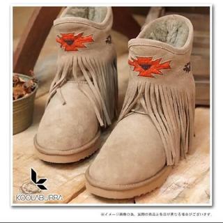 クーラブラ(Koolaburra)の年末特価 KOOLABURRA✴︎本革ムートン(レインブーツ/長靴)